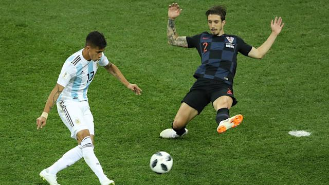The defender hit out at the South Americans after Croatia ran out 3-0 winners in their Group D World Cup clash