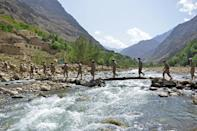 Panjshir is a narrow valley deep in the Hindu Kush mountains, with its southern tip around 80 kilometres (50 miles) north of the capital Kabul