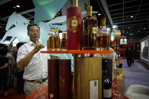 French cognac sales down as China exports fall