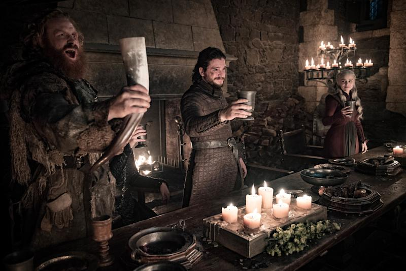 Oops, Game of Thrones Left Two Plastic Water Bottles in a Single Series Finale Shot