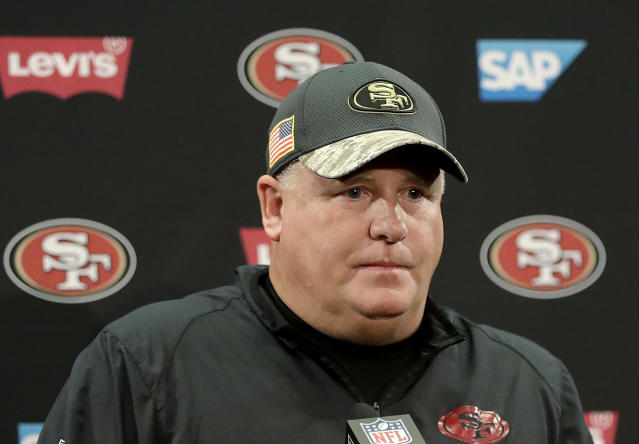 Chip Kelly is heading back to college football, this time as head coach of UCLA. (AP)