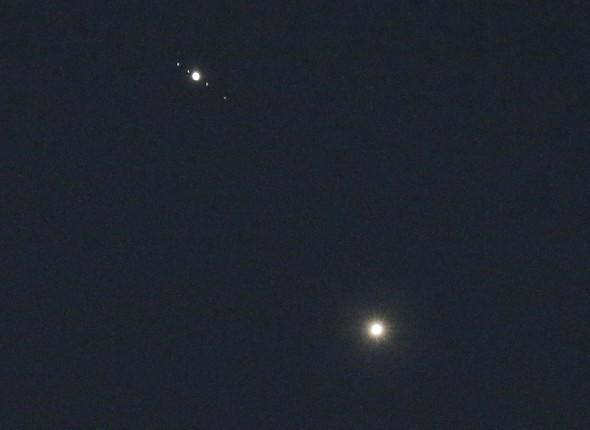 Venus-Jupiter conjunction: Set your alarm for this celestial