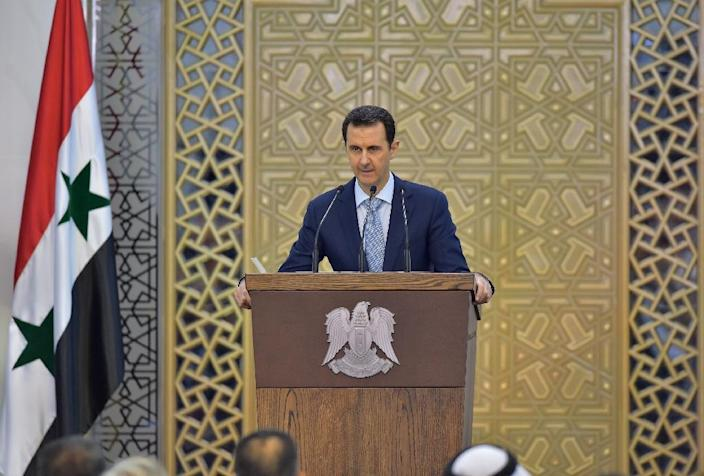 Assad says Russian success in Syria is vital for the whole region (AFP Photo/)