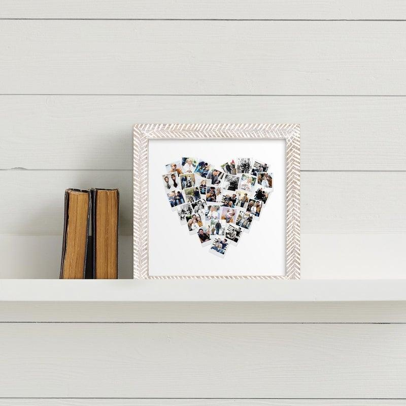 """<h3><a href=""""https://www.minted.com/product/photo-art/MIN-ZRO-GCP/heart-snapshot-mix-photo-art"""" rel=""""nofollow noopener"""" target=""""_blank"""" data-ylk=""""slk:Minted Framed Heart-Photo Collage"""" class=""""link rapid-noclick-resp"""">Minted Framed Heart-Photo Collage</a></h3><br>Give photo collages a cohesive and heartfelt new name with this sweet gift idea that can be personalized with 30 different snapshots. <br><br><br><strong>Minted</strong> Heart Snapshot Mix Framed Photo Art, $, available at <a href=""""https://www.minted.com/product/photo-art/MIN-ZRO-GCP/heart-snapshot-mix-photo-art"""" rel=""""nofollow noopener"""" target=""""_blank"""" data-ylk=""""slk:Minted"""" class=""""link rapid-noclick-resp"""">Minted</a>"""
