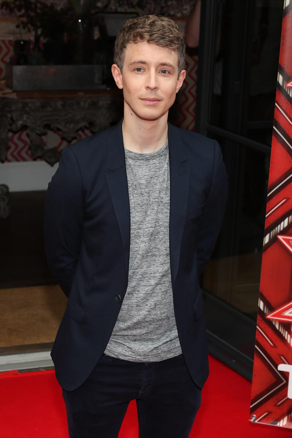 LONDON, UNITED KINGDOM - AUGUST 25: Matt Edmondson attends the Launch of the X Factor 2016 at the Ham Yard Hotel on August 25, 2016 in London, England. (Photo by Alex B. Huckle/FilmMagic)