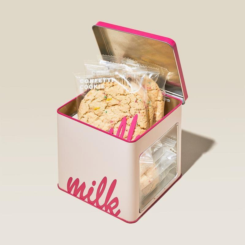 """<h2>Milk Bar Confetti Cookie Tin</h2><br><strong>Best For: Best Friend</strong><br><strong>Budget: $20</strong><br>There's a lot to love about Christina Tosi's famous NYC bakery, including this tin of 6 fluffy, vanilla cookies topped off with rainbow sprinkles — sent straight to your bestie's doorstep. <br><br><em>Shop <strong><a href=""""https://milkbarstore.com/collections/sweet-treats-delivery"""" rel=""""nofollow noopener"""" target=""""_blank"""" data-ylk=""""slk:Milk Bar"""" class=""""link rapid-noclick-resp"""">Milk Bar</a></strong></em><br><br><strong>Milk Bar</strong> Confetti Cookie Tin, $, available at <a href=""""https://go.skimresources.com/?id=30283X879131&url=https%3A%2F%2Fmilkbarstore.com%2Fcollections%2Fgifts-under-50%2Fproducts%2Fconfetti-cookie-tin"""" rel=""""nofollow noopener"""" target=""""_blank"""" data-ylk=""""slk:Milk Bar"""" class=""""link rapid-noclick-resp"""">Milk Bar</a>"""