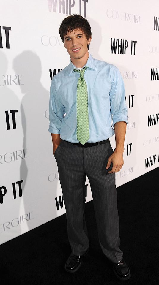 "<a href=""http://movies.yahoo.com/movie/contributor/1809796465"">Matt Lanter</a> at the Los Angeles premiere of <a href=""http://movies.yahoo.com/movie/1810036665/info"">Whip It!</a> - 09/29/2009"