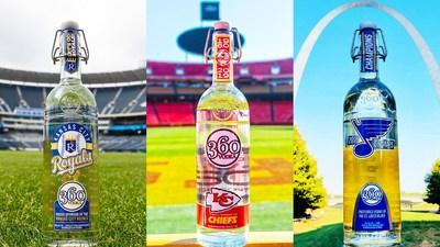 For the third time in five years, 360 Vodka celebrates a partner's World Championship.