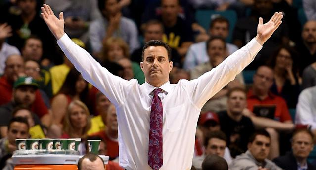 Sean Miller broke his silence on Tuesday (AP)