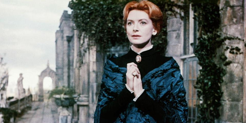 """<p>Deborah Kerr will make you question your own sanity while watching Jack Clayton's hair-raising adaptation of <em>The Turn of the Screw</em>. Toying with the idea of sinister forces operating beyond what the eye can see, it stars Kerr as a governess caring for two children in a mansion she swears is haunted. If it sounds a lot like <em>The Others,</em> it's because the 2001 film is a solid remake of Clayton's shudder fest. <a class=""""link rapid-noclick-resp"""" href=""""https://www.amazon.com/Innocents-Clytie-Jessop/dp/B00AVILPK0?tag=syn-yahoo-20&ascsubtag=%5Bartid%7C10056.g.10247453%5Bsrc%7Cyahoo-us"""" rel=""""nofollow noopener"""" target=""""_blank"""" data-ylk=""""slk:Watch Now"""">Watch Now</a></p>"""