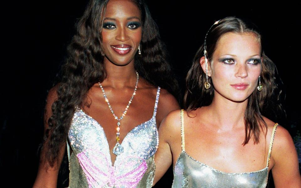 Naomi Campbell and Kate Moss