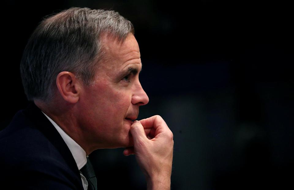 Governor Mark Carney. Photo: Hannah McKay/PA Wire/PA Images