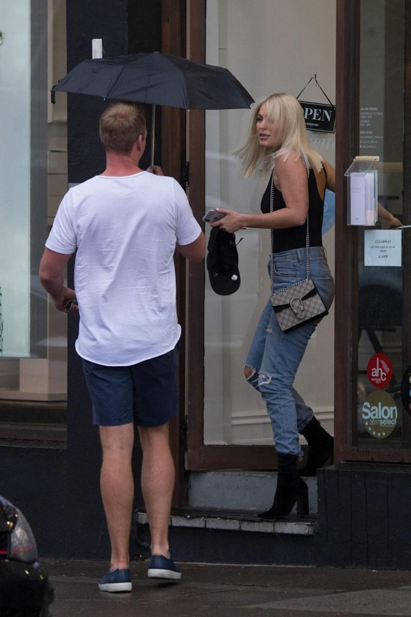 Keira Maguire and Jarrod Woodgate are seen together in Melbourne. Keira Maguire and her new rumoured boyfriend Jarrod Woodgate, are seen together for the first time, all but confirming they are dating. Source: Splash