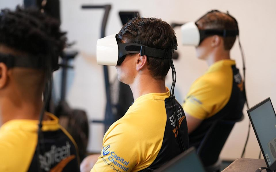 World Rugby trial eye-tracking technology aimed at monitoring concussions - World Rugby