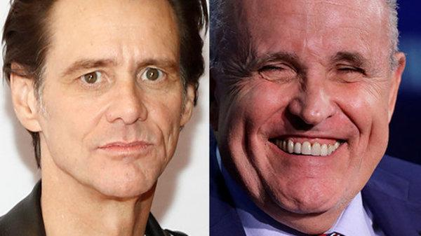 Jim Carrey Turns Paintbrush On Rudy Giuliani With Ghoulish New Portrait