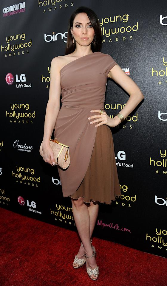 HOLLYWOOD, CA - JUNE 14:  Actress Whitney Cummings arrives at the Young Hollywood Awards at Hollywood Athletic Club on June 14, 2012 in Hollywood, California.  (Photo by Valerie Macon/Getty Images)