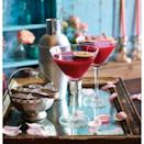"""<p>Passion fruit and pomegranate combine to make this delicious cocktail recipe.</p><p><strong>Recipe: <a href=""""https://www.goodhousekeeping.com/uk/valentines-day/valentines-recipes/passiontini"""" rel=""""nofollow noopener"""" target=""""_blank"""" data-ylk=""""slk:Passiontini"""" class=""""link rapid-noclick-resp"""">Passiontini</a> </strong><br></p>"""