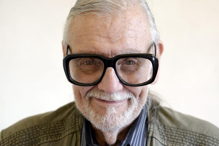 """Horror legend and """"Night of the Living Dead"""" director George Romero died on July 16, 2017. He was 77."""