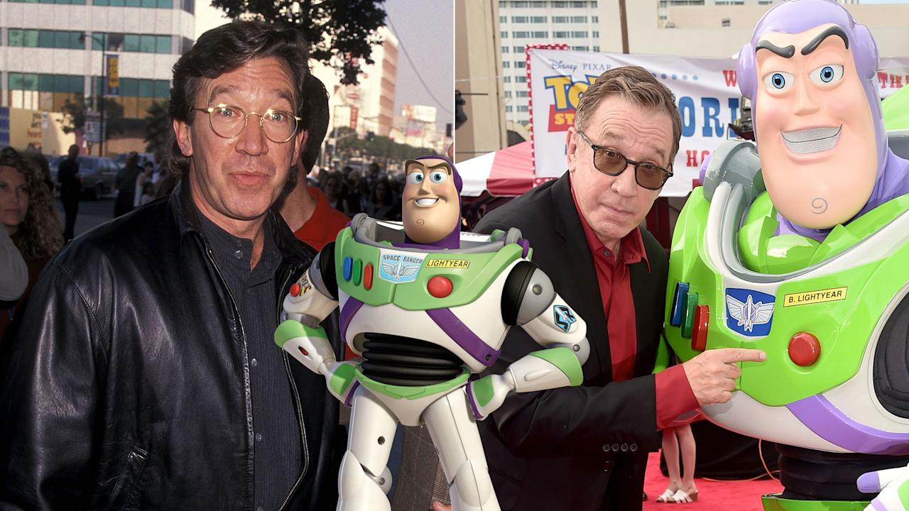 "Billy Crystal, Jim Carrey, Chevy Chase, and Bill Murray were considered for the voice of Space Command hero Buzz Lightyear, but it was <em>Home Improvement</em> star Tim Allen who got to say the immortal line ""To infinity... and beyond"" across four movies, and countless spin-offs."
