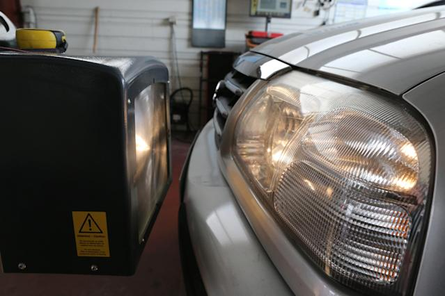 In an enclosed space, carbon monoxide produced by a vehicle can be deadly. (Photo: Godong/UIG via Getty Images)