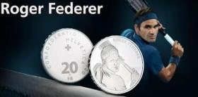 Roger Federer to be set in silver
