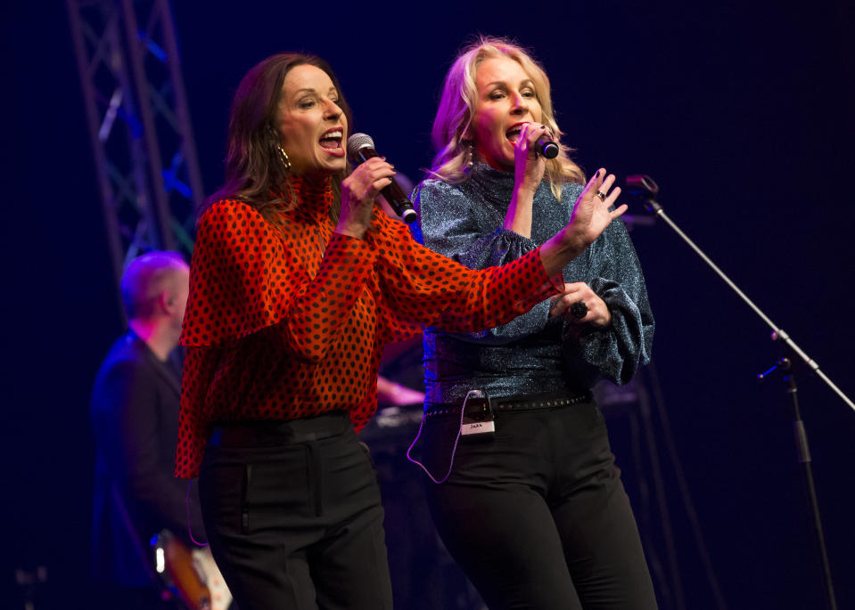 Keren Woodward and Sara Dallin, who still perform as Bananarama, said that youth gave them self-confidence to fight back (Image: Getty Images)