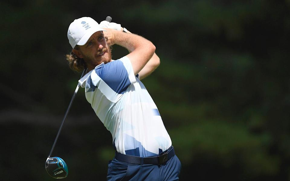 Tommy Fleetwood of Britain in action - Reuters