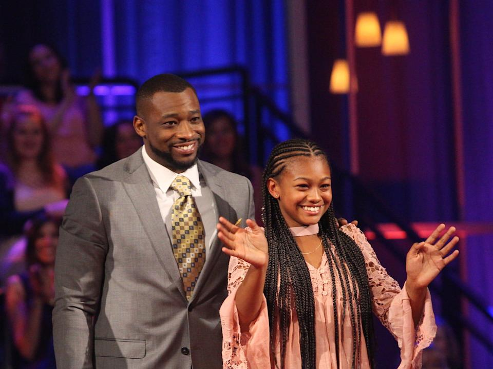"""Kenny King from """"The Bachelorette"""" and his daughter."""