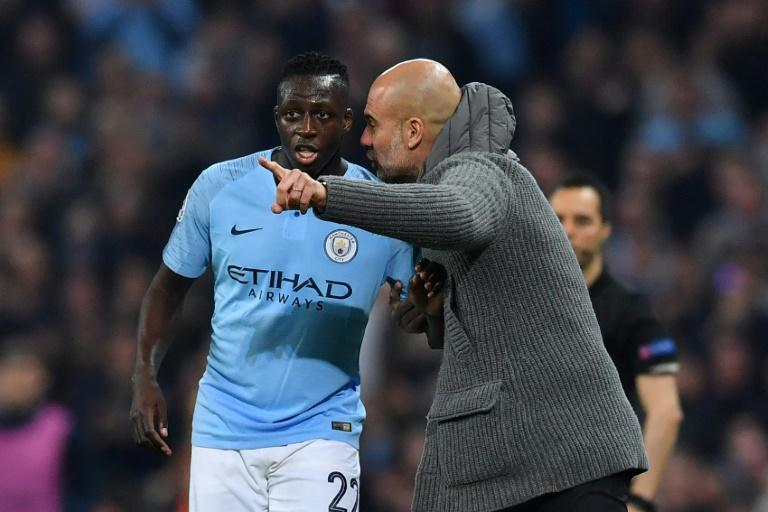 'He has a special quality': says Manchester City manager Pep Guardiola of Benjamin Mendy (AFP Photo/Ben STANSALL)