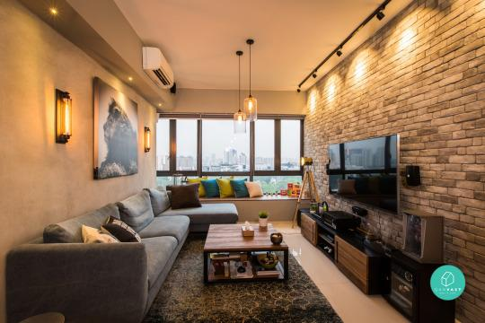 12 small apartments and their cleverly organised interiors for 3 renovated apt with spacious living room 10 pax