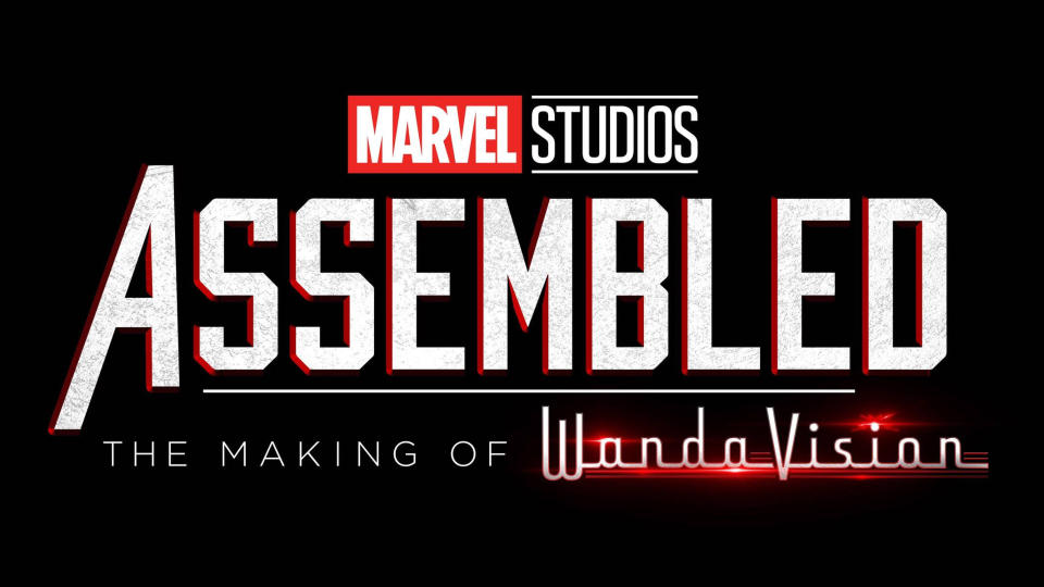 'Marvel Studios: Assembled — The Making of WandaVision'. (Credit: Disney+)