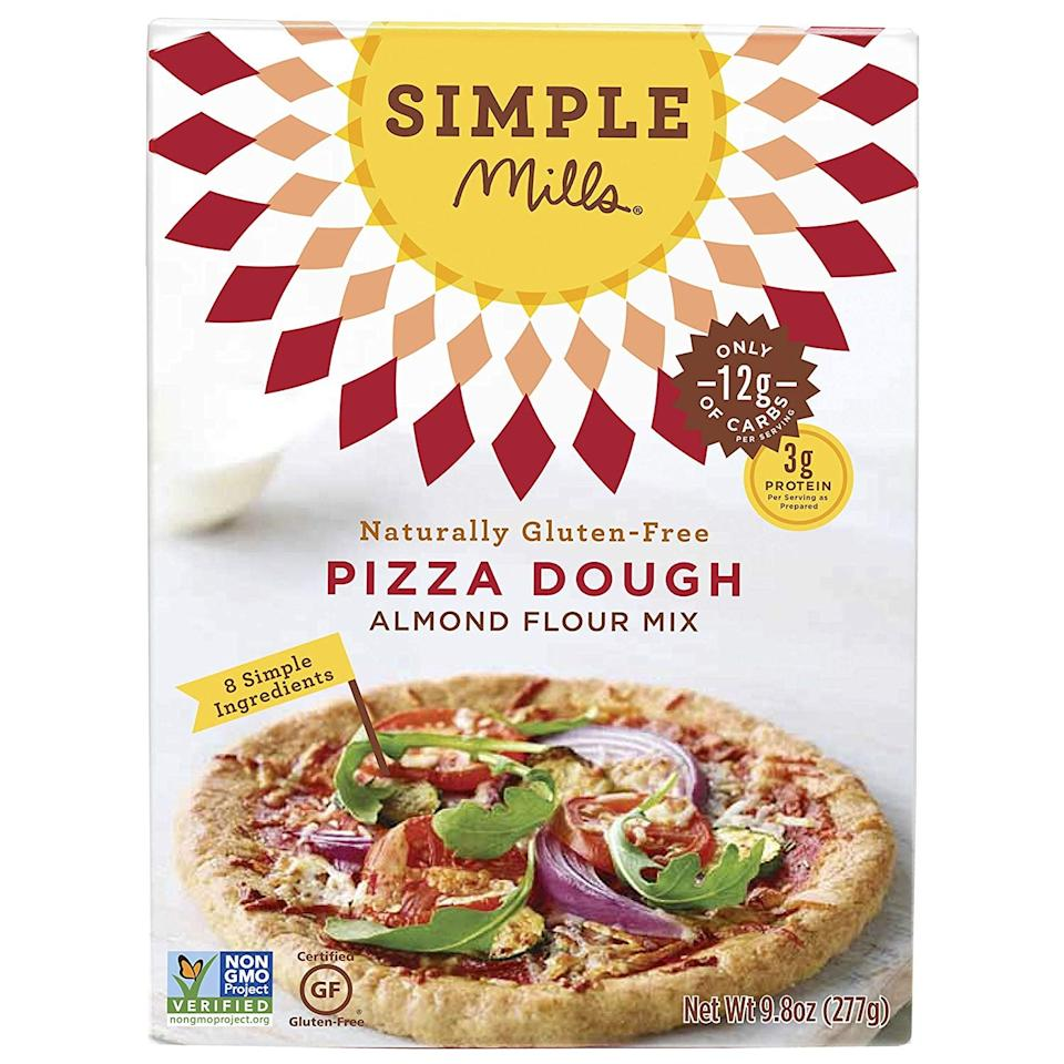 "<p>Not so into the cauliflower crust? Try this <a href=""https://www.popsugar.com/buy/Simple-Mills-Almond-Flour-Mix-Pizza-Dough-420196?p_name=Simple%20Mills%20Almond%20Flour%20Mix%2C%20Pizza%20Dough&retailer=amazon.com&pid=420196&price=7&evar1=fit%3Aus&evar9=46530559&evar98=https%3A%2F%2Fwww.popsugar.com%2Ffitness%2Fphoto-gallery%2F46530559%2Fimage%2F46530563%2FSimple-Mills-Almond-Flour-Mix-Pizza-Dough&list1=shopping%2Camazon%2Cpizza%2Clow-carb%2Cketo%20diet&prop13=mobile&pdata=1"" rel=""nofollow"" data-shoppable-link=""1"" target=""_blank"" class=""ga-track"" data-ga-category=""Related"" data-ga-label=""https://www.amazon.com/Simple-Mills-Almond-Naturally-Gluten/dp/B00ZWA8BTA/ref=sr_1_7?keywords=low%2Bcarb%2Bpizza&amp;qid=1552328052&amp;s=gateway&amp;sr=8-7&amp;th=1"" data-ga-action=""In-Line Links"">Simple Mills Almond Flour Mix, Pizza Dough</a> ($7) that customers rave about.</p>"