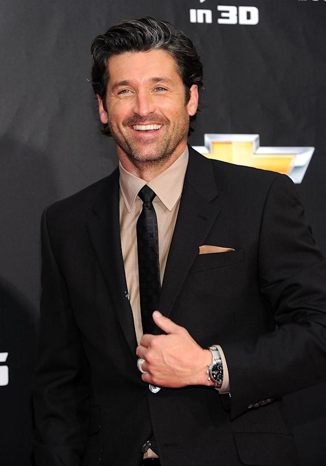 <p>The <em>Grey's Anatomy</em> star only appeared in the threequel. (Photo: Jason Kempin/Getty Images) </p>