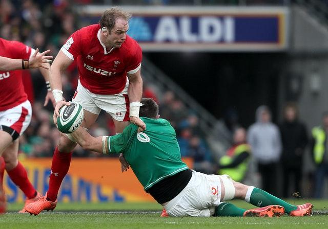 Wales captain Alun Wyn Jones (left) is on course to break the record for the most Test appearances