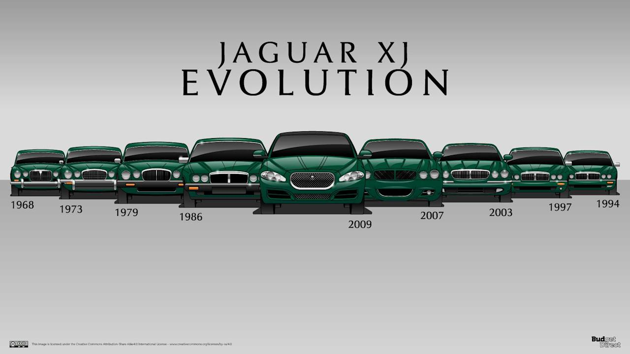 "<p>The <a rel=""nofollow"" href=""https://uk.motor1.com/jaguar?utm_campaign=yahoo-feed"">Jaguar</a> <a rel=""nofollow"" href=""https://uk.motor1.com/jaguar/xj?utm_campaign=yahoo-feed"">XJ</a> has been in the British car manufacturer's lineup since 1968, becoming the brand's flagship offering just two years later. Fifty years since its introduction and the XJ is still Jaguar's top cat, growing in size and luxury with every iteration. The car spans nine generations and dozens of variants. It's fascinating to see how the Midlands company has updated and adapted specific styling cues throughout several XJ generations. </p> <p><em><a rel=""nofollow"" href=""https://www.budgetdirect.com.au/blog/7-cars-that-never-die-the-design-evolution-of-the-longest-surviving-models.html?utm_campaign=yahoo-feed"">BudgetDirect</a></em> compiled terrific illustrations of all nine generations of the Jaguar XJ, making generational changes easy to spot. Click through the slideshow to see how it has changed. </p> <p><em><strong>Source:</strong> <a rel=""nofollow"" href=""https://www.budgetdirect.com.au/blog/7-cars-that-never-die-the-design-evolution-of-the-longest-surviving-models.html?utm_campaign=yahoo-feed"">BudgetDirect</a></em></p> <h2>More automotive history lessons:</h2><ul><li><a rel=""nofollow"" href=""https://uk.motor1.com/features/275033/mercedes-sl-six-generations-evolution/?utm_campaign=yahoo-feed"">See the timeless Mercedes SL evolve through six generations</a></li><br><li><a rel=""nofollow"" href=""https://uk.motor1.com/news/268648/honda-civic-10-generations-history/?utm_campaign=yahoo-feed"">10-generations of Civic is a brilliant Honda history lesson</a></li><br></ul><br>"