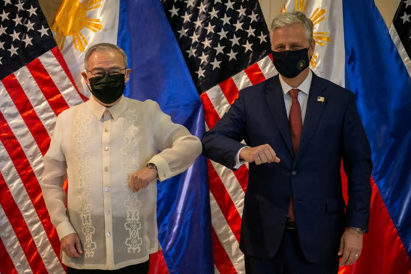 U.S. National Security Advisor Robert O'Brien in the Philippines