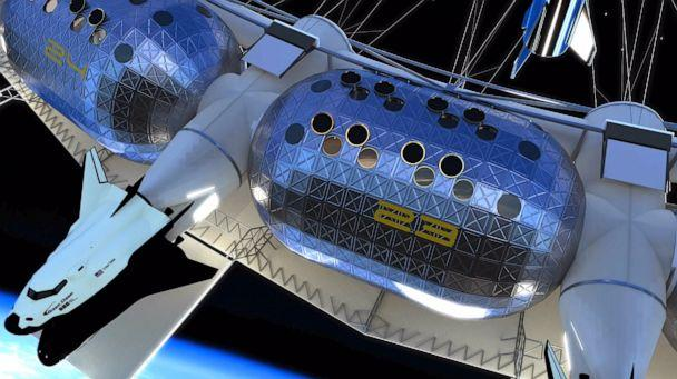PHOTO: The proposed Von Braun Rotating Space Station would be the first space hotel. (Gateway Foundation)