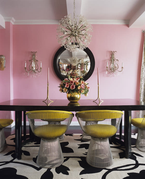 elledecor2 12 (Adult) Ways to Decorate With the Color Pink