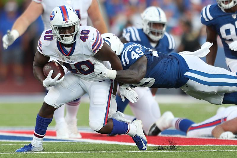 Devin Singletary's value has jumped more than any other player in fantasy over the past week. (Photo by Bryan M. Bennett/Getty Images)