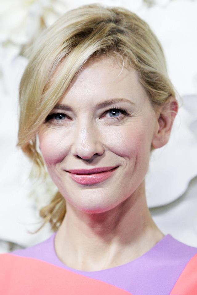 <p>Cate Blanchett arrives at the Australian premiere of Disney's <em>Cinderella</em> at State Theatre on March 15, 2015, in Sydney. (Photo: Getty Images) </p>