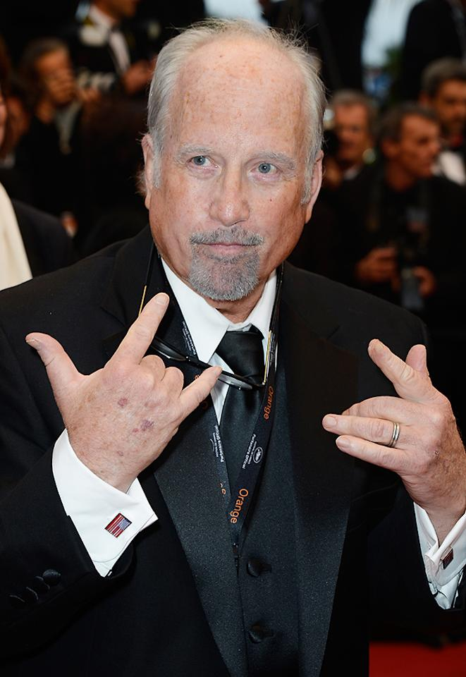 CANNES, FRANCE - MAY 22:  Actor Richard Dreyfus attends the 'All Is Lost' Premiere during the 66th Annual Cannes Film Festival at Palais des Festivals on May 22, 2013 in Cannes, France.  (Photo by Pascal Le Segretain/Getty Images)