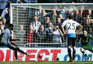 Tottenham Hotspur came third after their 5-1 humiliation at relegated Newcastle United (AFP Photo/Scott Heppell)