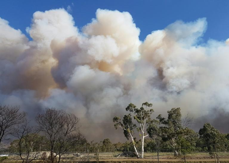 Fire chiefs said a dry summer and unseasonably hot autumn had contributed to the magnitude of the blaze