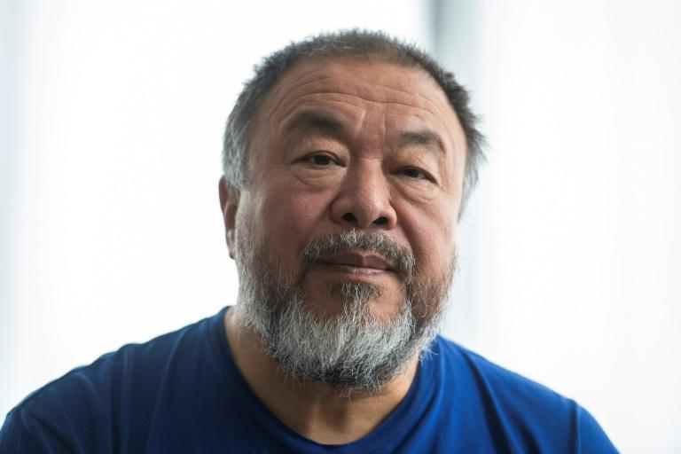 "Berlin-based Chinese dissident artist Ai WeiWei says China is ""a society sacrifices anything to maintain its control"" (AFP Photo/John MACDOUGALL)"