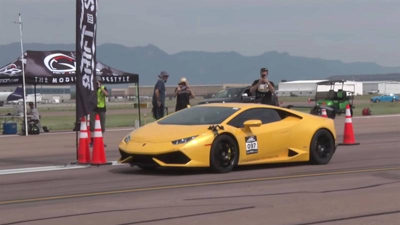 Lamborghini Huracan Half-Mile Top Speed