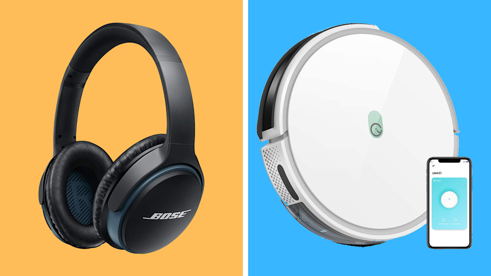 Forget Prime Day! These early Black Friday deals are insane—save big on Bose wireless headphones and Yeedi robot vacuums. (Photo: Amazon)