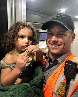 How missing 2-year-old Michigan girl was reunited with her family