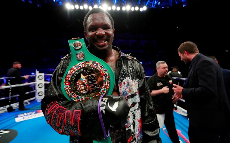 Dillian Whyte was delighted to prove his doubters wrong with victory over Oscar Rivas - Action Images via Reuters