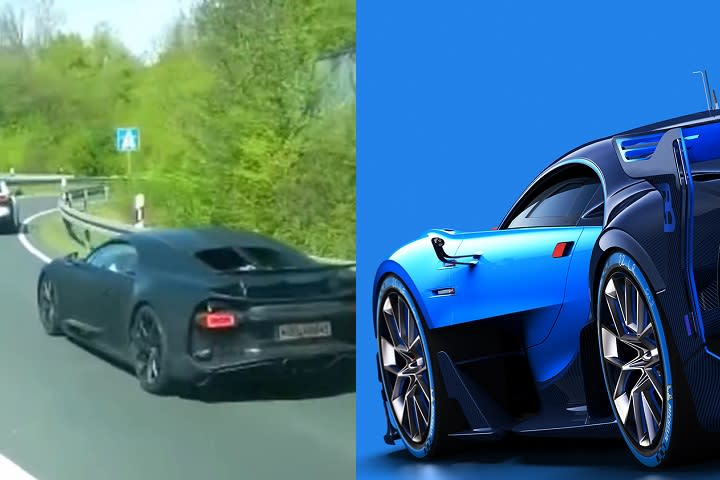 Is The Bugatti Vision GT Actually The Chiron In Race Disguise? Ronaldo Bugatti Vision Gt on renault alpine gt vision, mitsubishi gt vision, bmw gt vision, subaru viziv gt vision,