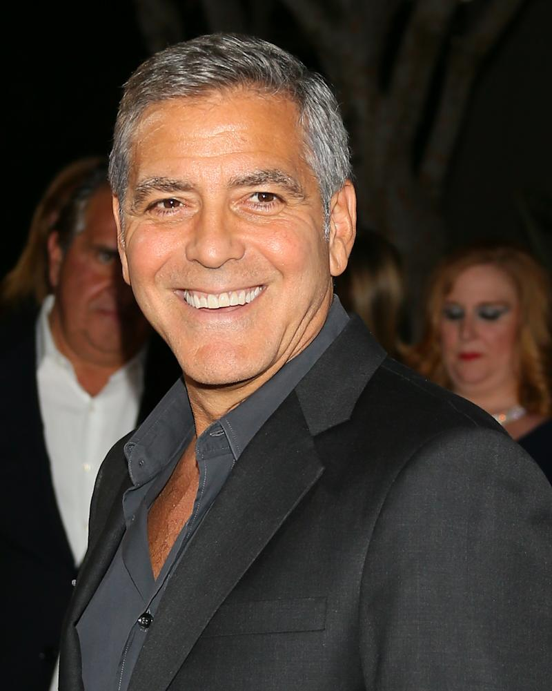 George Clooney Says His Stint on ER Prepared Him for Twins